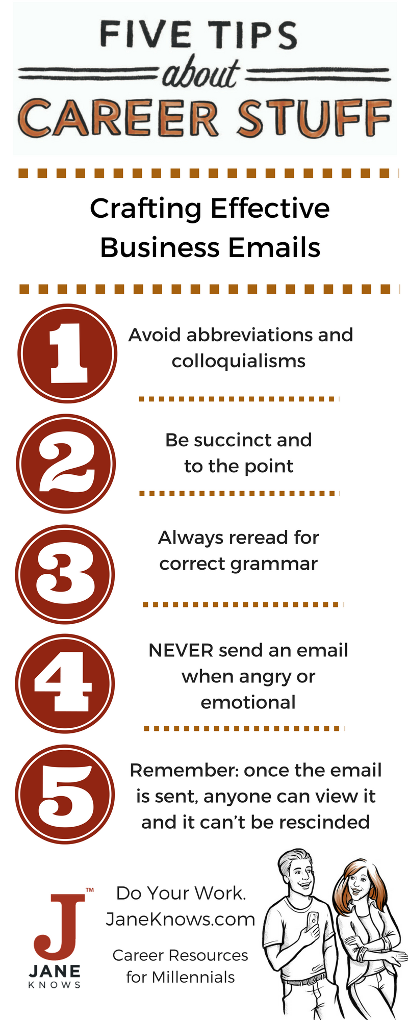 Crafting Effective Business Emails - Infographic