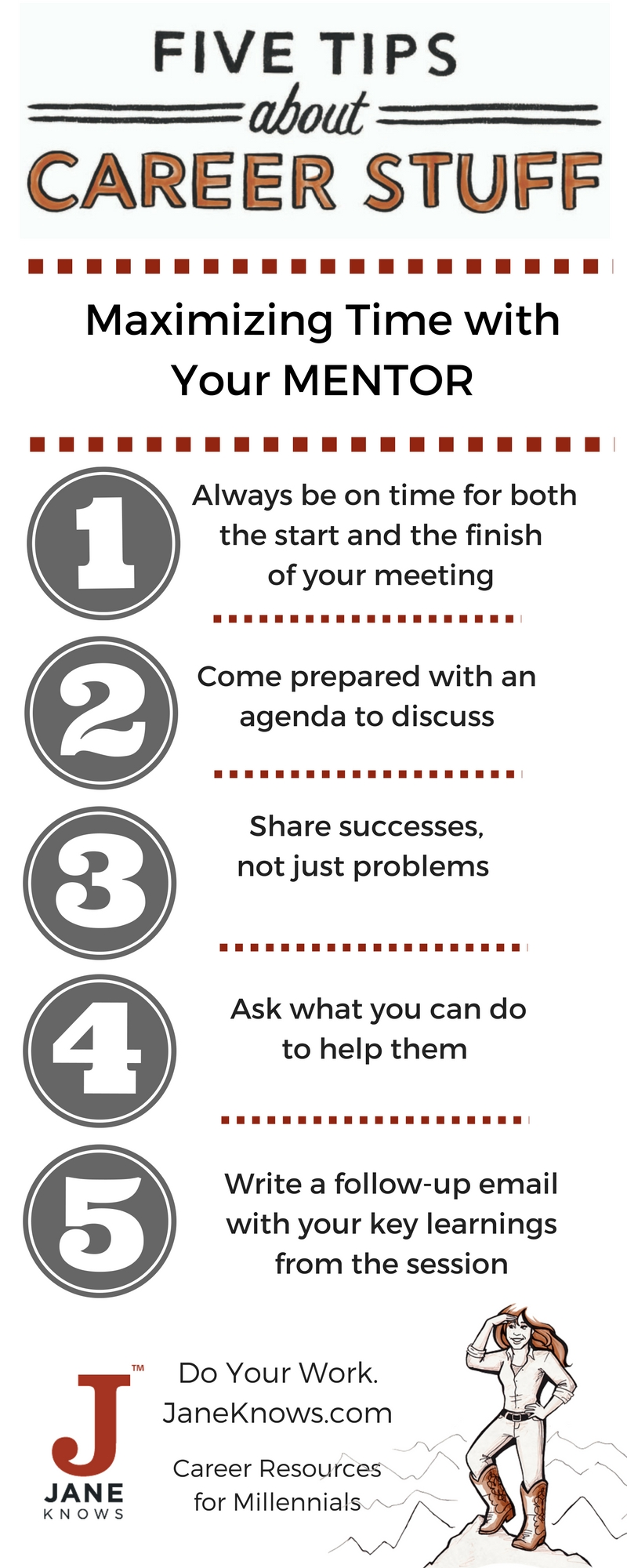 Maximizing Time with Your MENTOR - Infographic