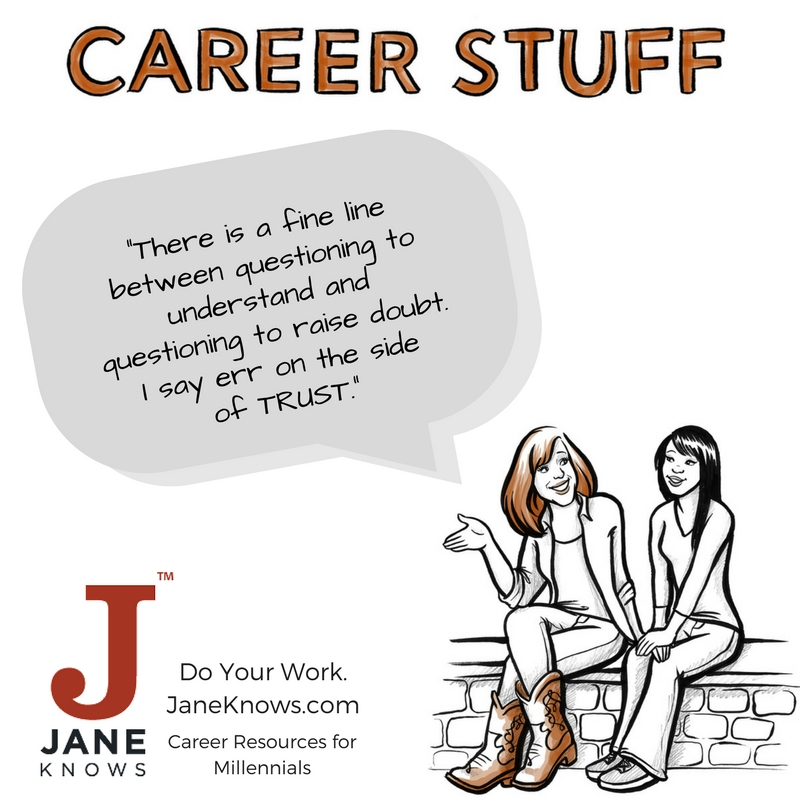 jane miller, jane knows, millennial career advice